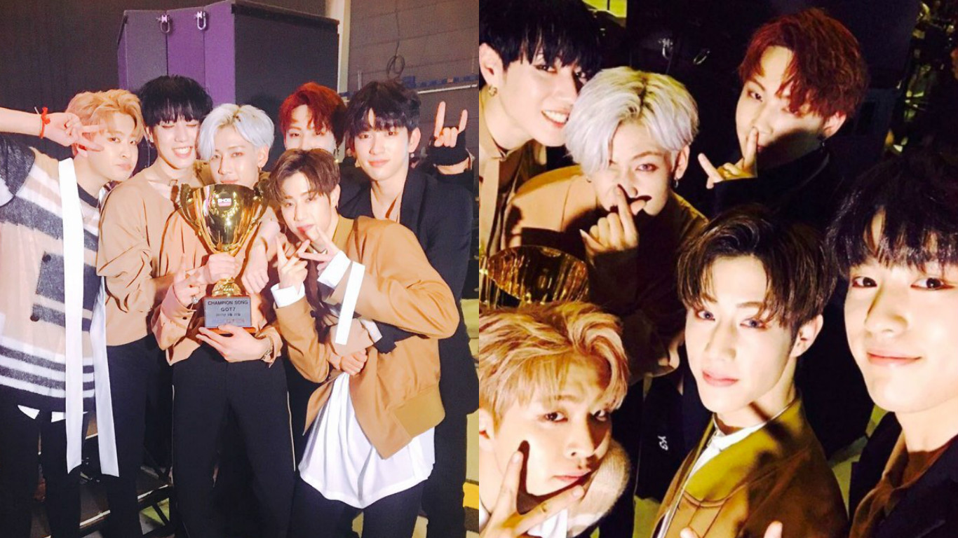 """Watch: GOT7 Takes 2nd Win For """"Never Ever"""" On """"Show Champion,"""" Performances By GFRIEND, BTOB, And More"""