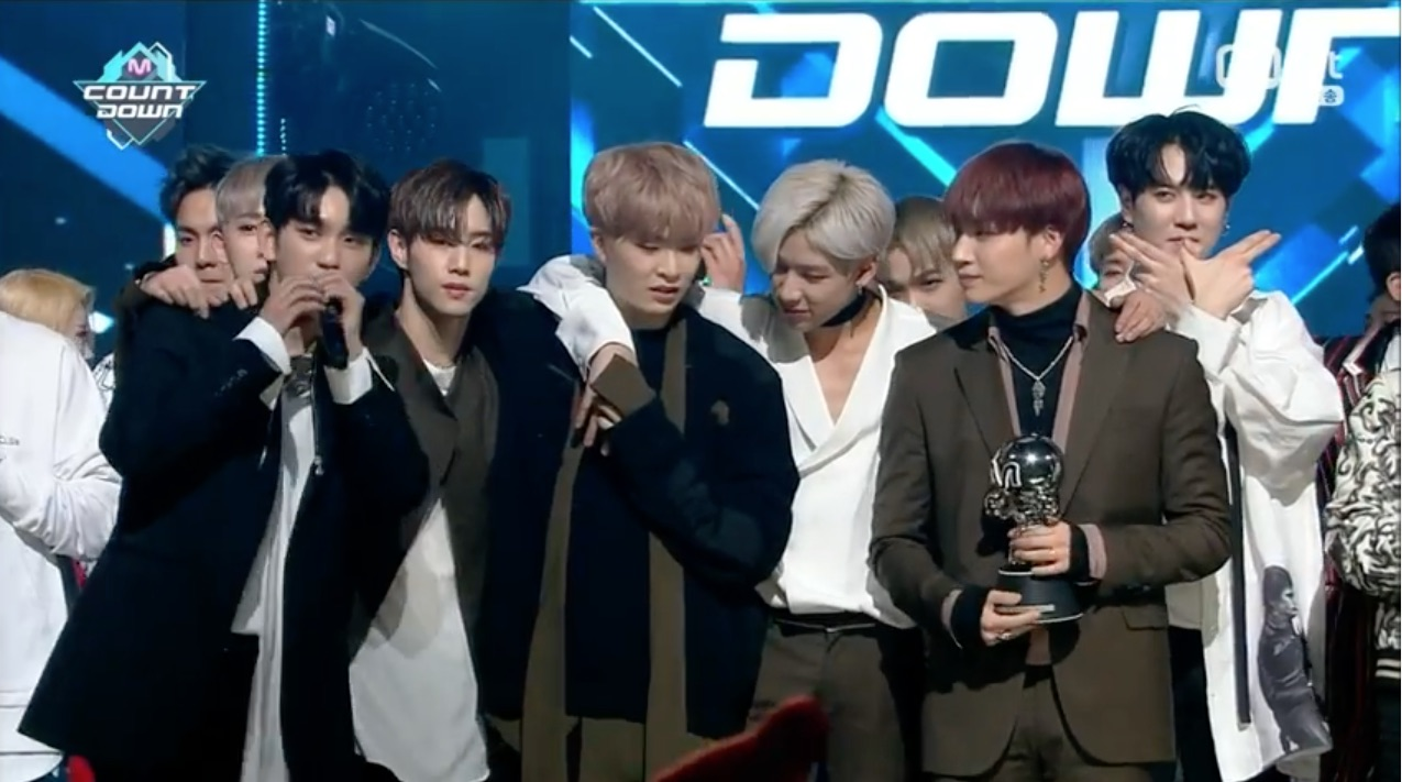 "Watch: GOT7 Takes 3rd Win For ""Never Ever"" On ""M!Countdown,"" Performances By CNBLUE, Highlight, MONSTA X, PRISTIN, And More"