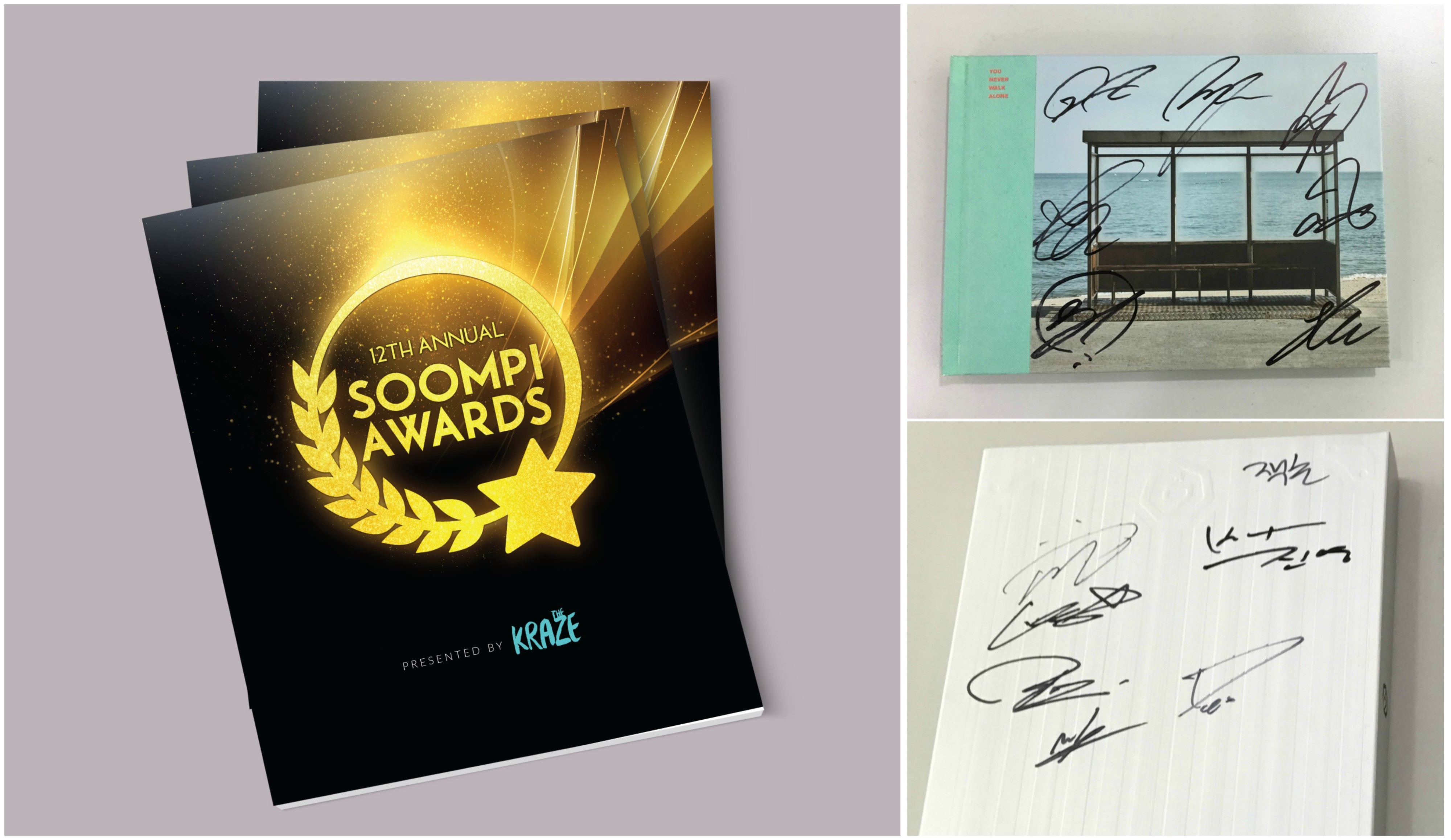 Giveaway: Celebrate The Kraze's Soompi Awards Special Issue With Signed BTS And GOT7 Albums