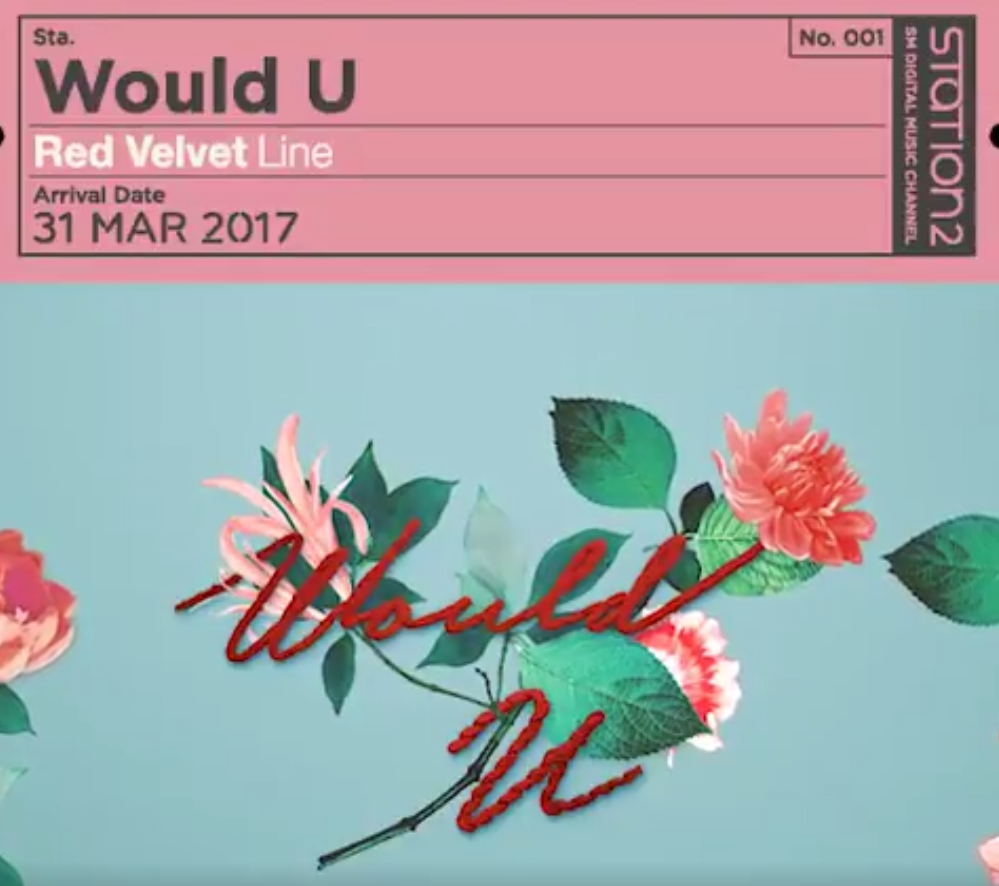 """Update: Red Velvet Introduces Their Song In Cute Audio Teaser Of """"Would U"""""""