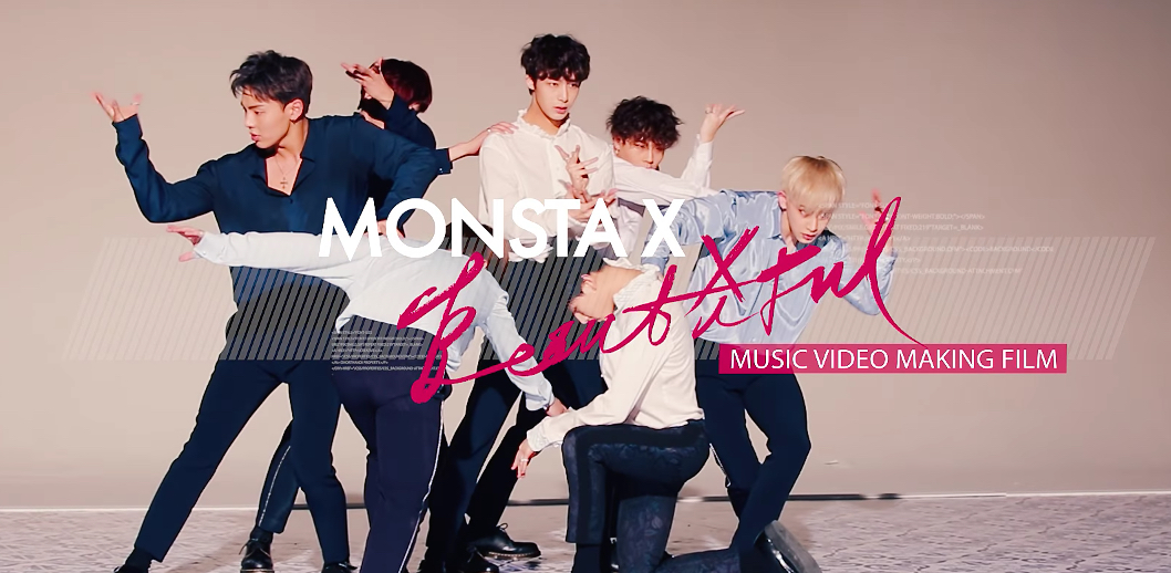 "Watch: MONSTA X Reveals Meaning Behind Concept In Behind-The-Scenes Video For ""Beautiful"""