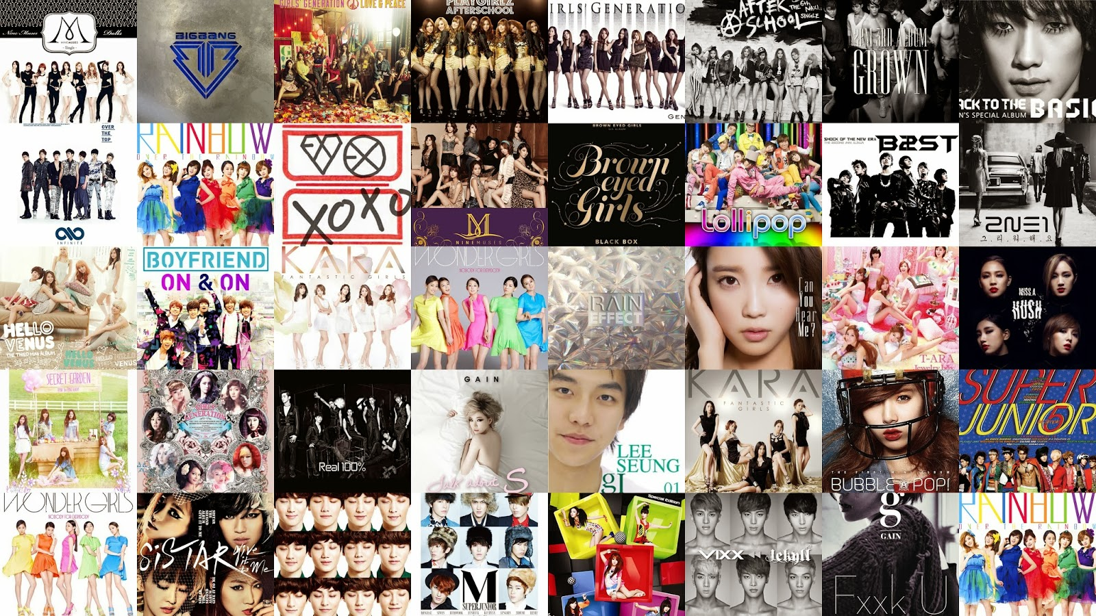 QUIZ: Can You Match These K-Pop Album Covers To The Artists? | Soompi