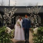 Buzz's Yoon Woo Hyun And Rumble Fish's Choi Jin Yi Share Sweet Spring Wedding Ceremony