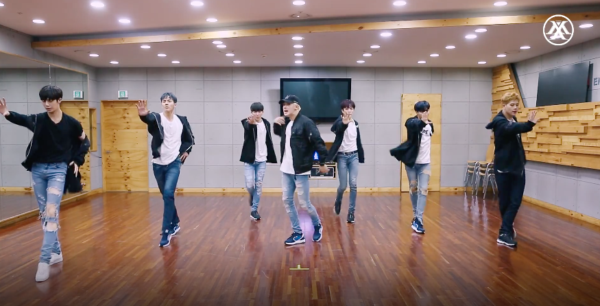 "Watch: MONSTA X Showcases Sleek Choreography In Dance Practice Video For ""Beautiful"""