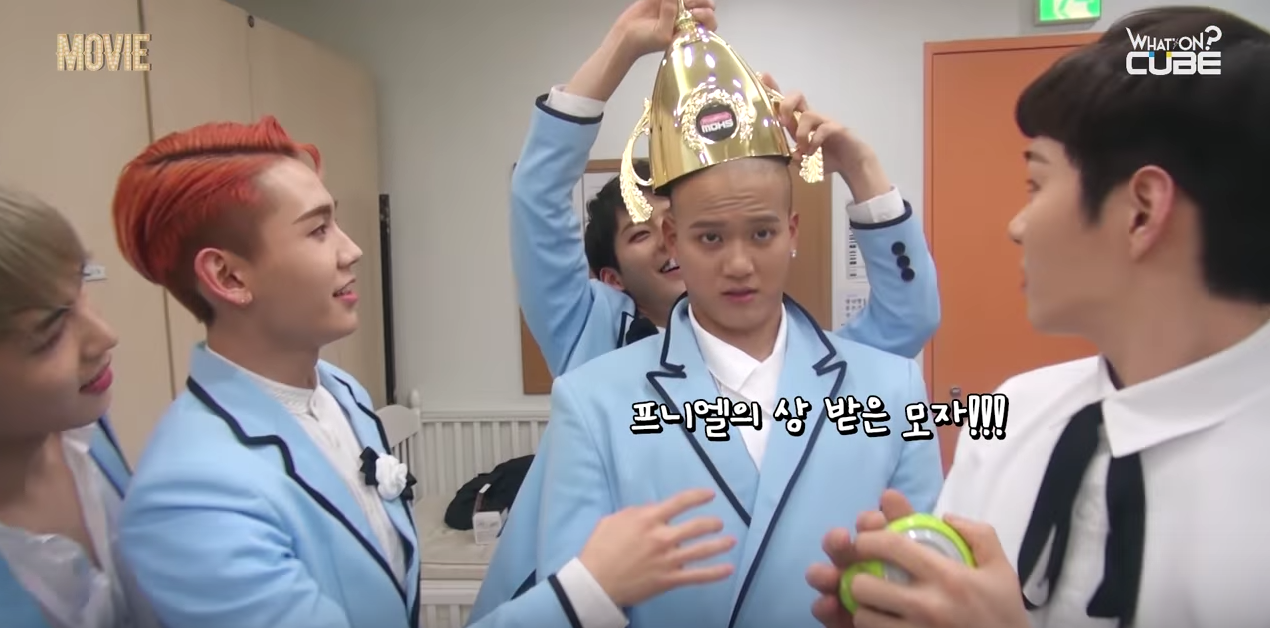 """Watch: BTOB Continues To Be Extra (As Usual) Behind The Scenes Of Their """"Movie"""" Promotions"""