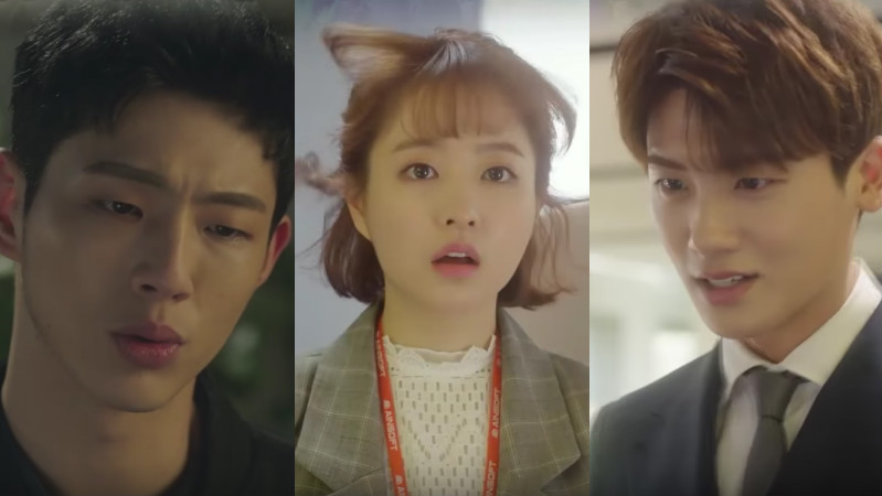 """Watch: A Love Triangle Blossoms In Preview For This Week's """"Strong Woman Do Bong Soon"""""""
