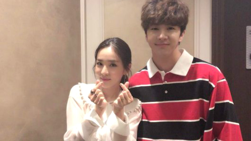 Sandara Park Shows Sibling Love For Her Brother Thunder