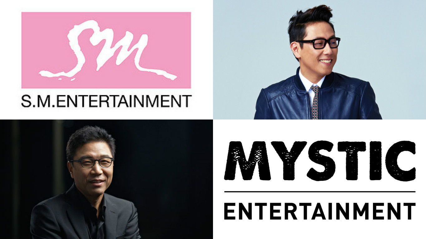 SM Entertainment Becomes Largest Shareholder Of Yoon Jong Shin's Mystic Entertainment