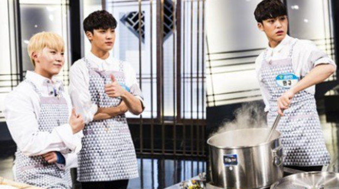 SEVENTEEN's Mingyu Confidently Takes On Epic Cooking Challenge (With Help From Seungkwan)
