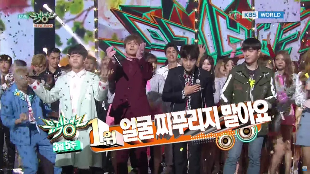 "Watch: Highlight Takes 4th Win For ""Plz Don't Be Sad"" On ""Music Bank""; Performances By Girl's Day, GOT7, And More"