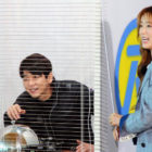 "Apink's Bomi And Choi Min Yong Are Hard At Work In Stills For Upcoming ""Running Man"""
