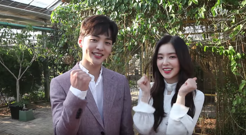 "Watch: Irene And Kim Min Jae Look Stunning From Every Angle While Acting In Red Velvet's ""Would U"" MV"