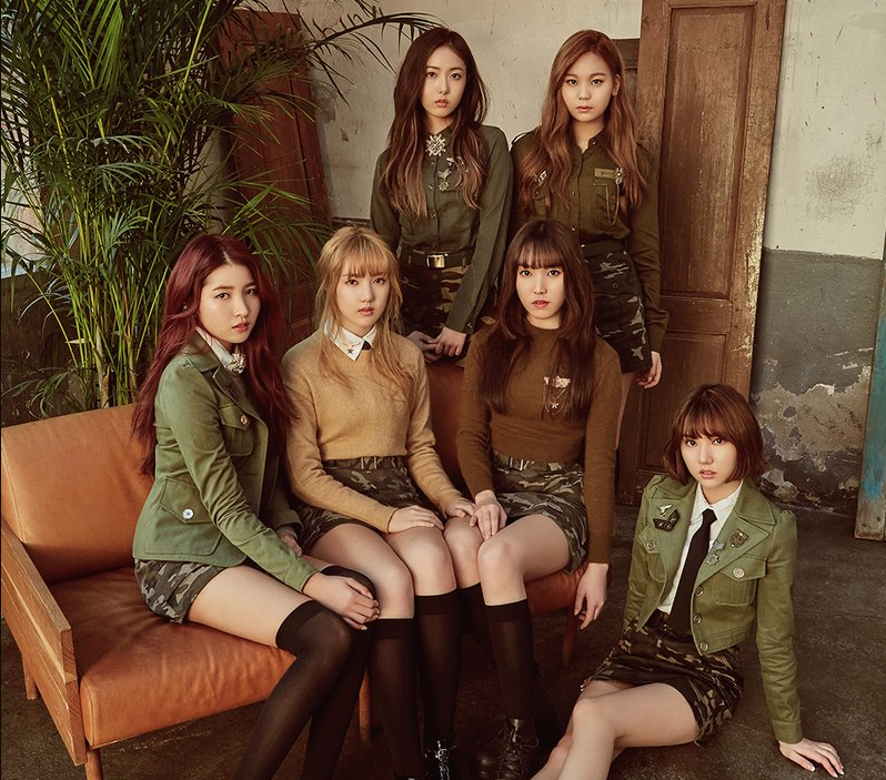 "GFRIEND Maintains No. 1 With ""Fingertip""; Soompi's K-Pop Music Chart 2017, April Week 1"
