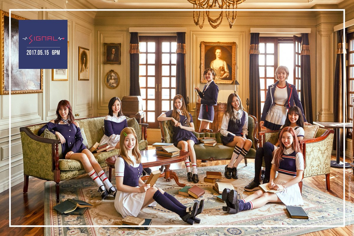 """Update: TWICE Releases Mysterious Teaser Schedule And Second Group Teaser For Comeback With """"Signal"""""""