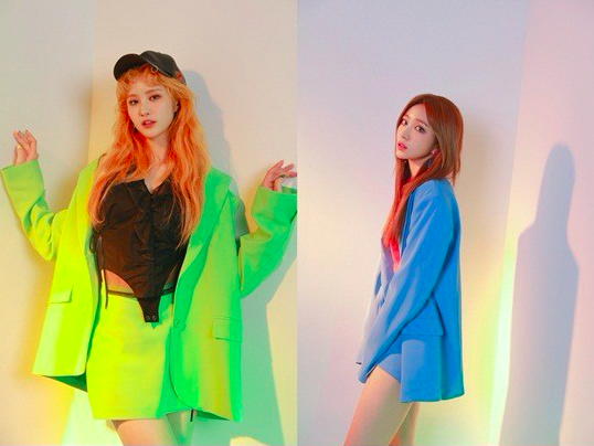 """EXID Unveils First Set Of Jacket Images For Upcoming Album """"Eclipse"""""""