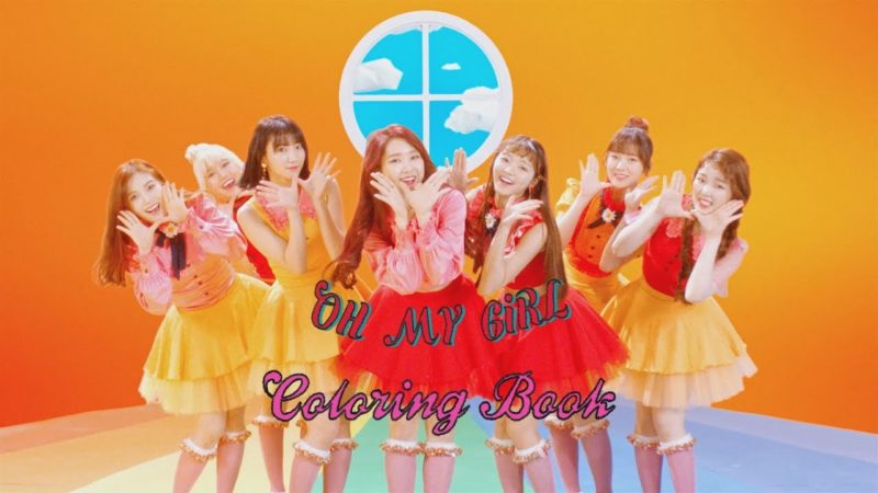 "Watch: Oh My Girl Returns With Whimsical MV For ""Coloring Book"""