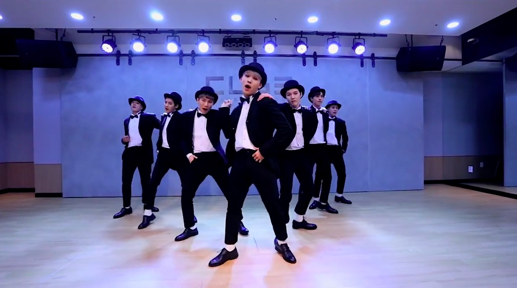 "Watch: BTOB Suits Up For Snazzy ""Movie"" Choreography Practice Video"