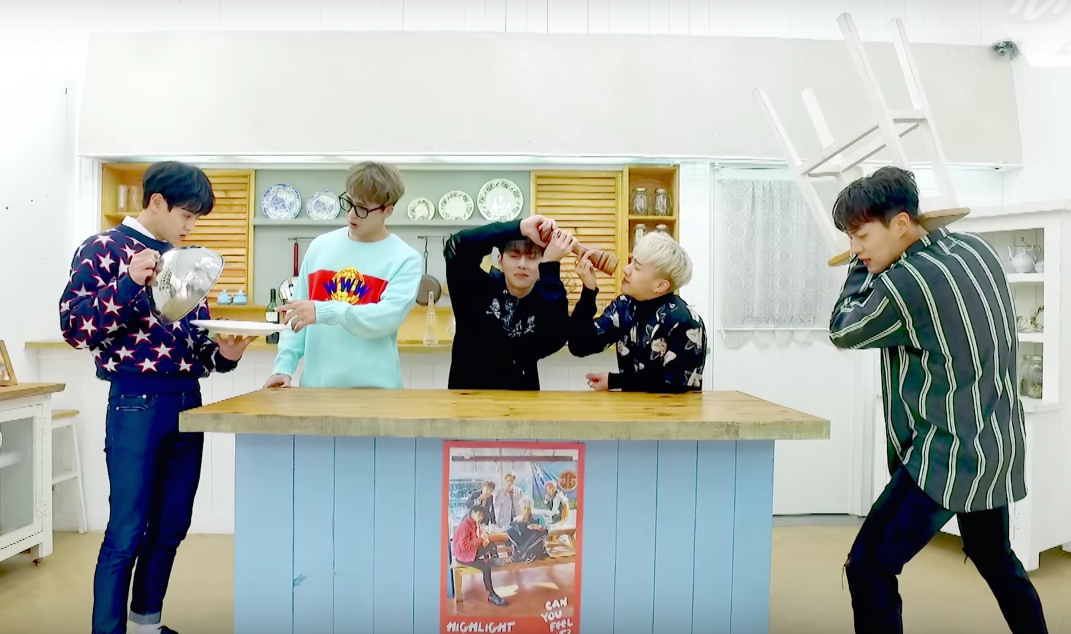 "Watch: Highlight Takes On The Mannequin Challenge For ""Plz Don't Be Sad"""