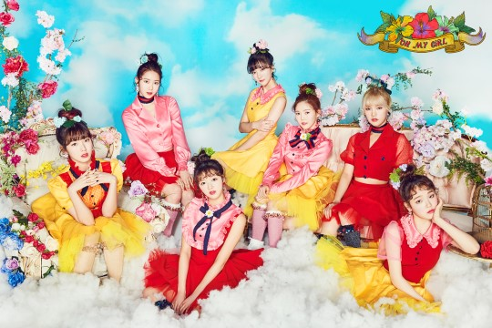 "Oh My Girl Beats Personal Record Through Success On Music Charts With ""Coloring Book"""
