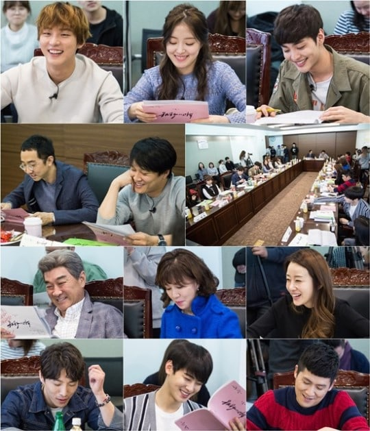 Variety Drama Co-Directed By PD Yoo Ho Jin And Cha Tae Hyun Holds First Script Read-Through