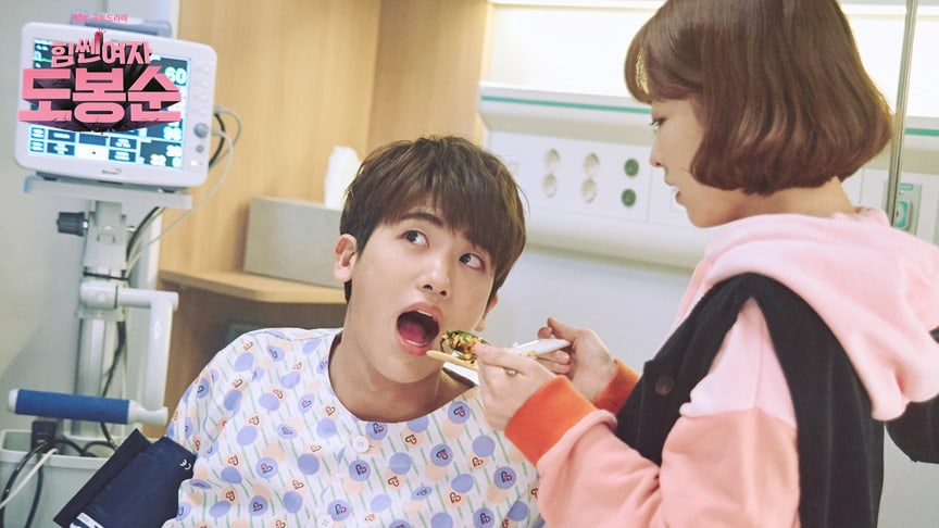 """Watch: Cast of """"Strong Woman Do Bong Soon"""" Can't Stop Eating In New Behind-The-Scenes Video"""