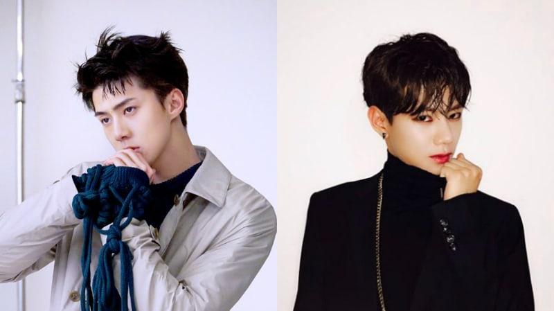 "EXO's Sehun Shows Support For ""Produce 101 Season 2"" Contestant Jo Yong Geun With Adorable Message"