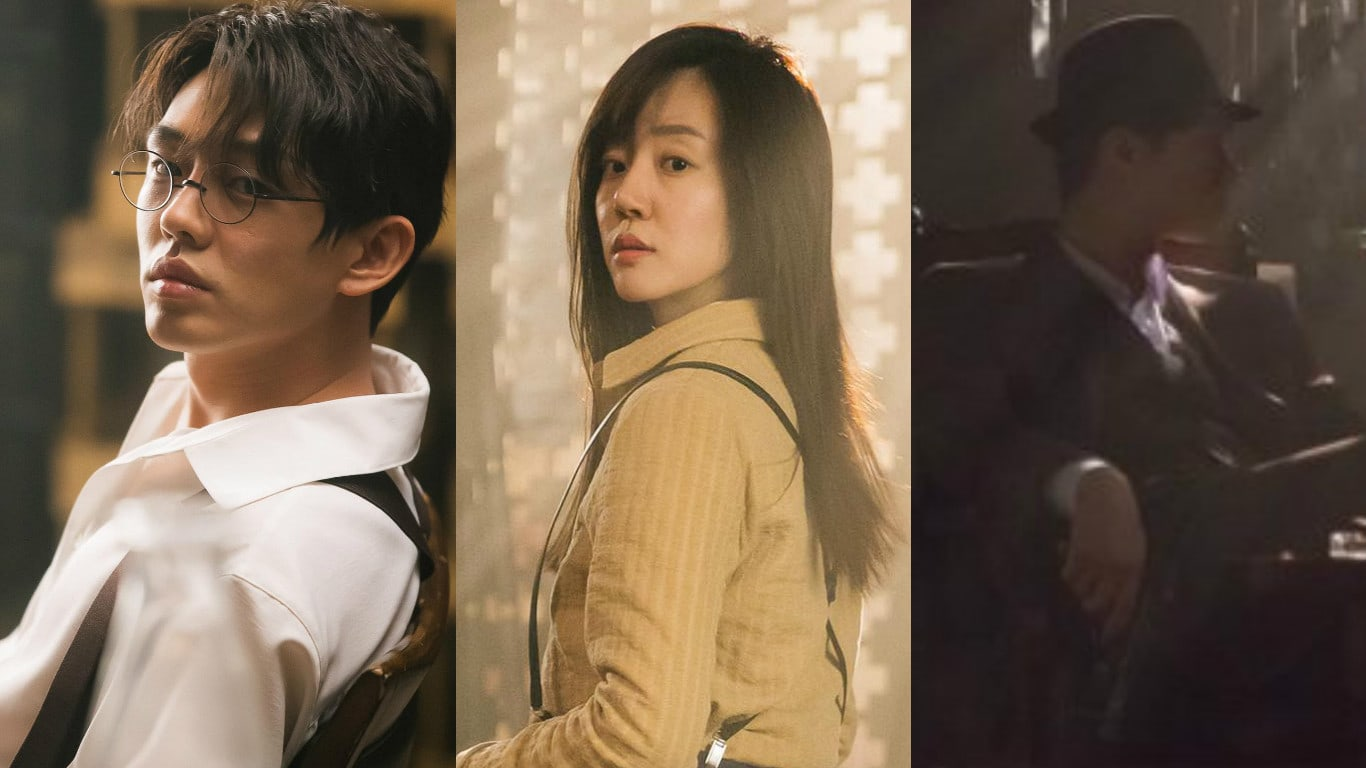 """tvN's """"Chicago Typewriter"""" Hints At Upcoming Time Jump With New Vintage Stills"""