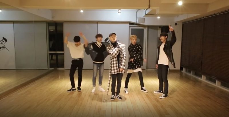 "Watch: IMFACT Makes Fans ""Tension Up"" With Dance Practice Video"