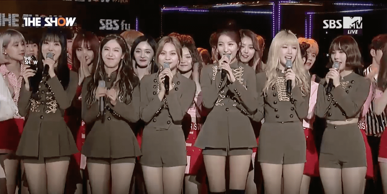 "Watch: GFRIEND Takes 2nd Win With ""Fingertip"" On ""The Show,"" Performances By EXID, Teen Top, Girl's Day, And More"