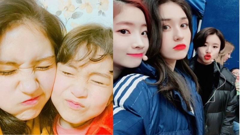 """Jeon Somi Celebrates Sister And """"Sistas"""" For Siblings Day!"""