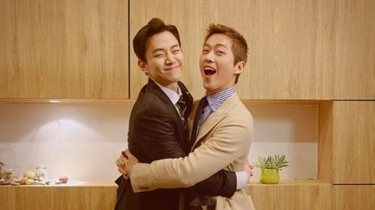 Namgoong Min Is Setting Bromance Goals With 2PM's Junho