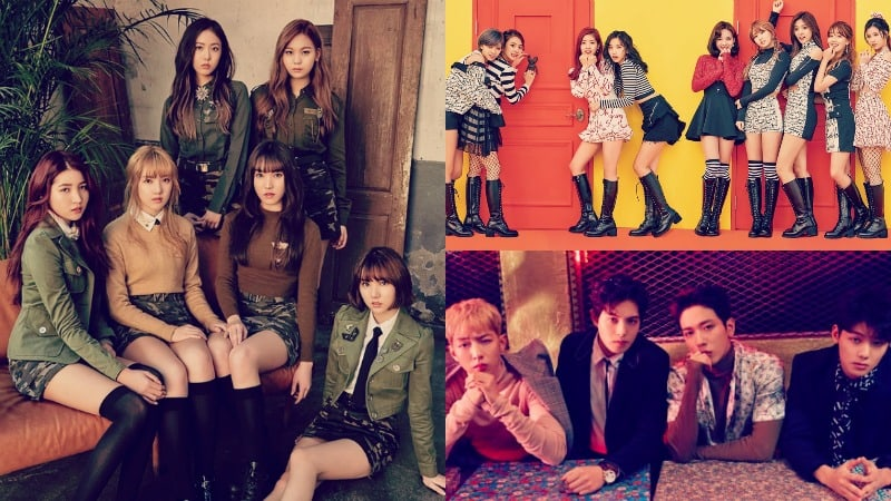 GFRIEND Joins CNBLUE And TWICE For KCON 2017 NY