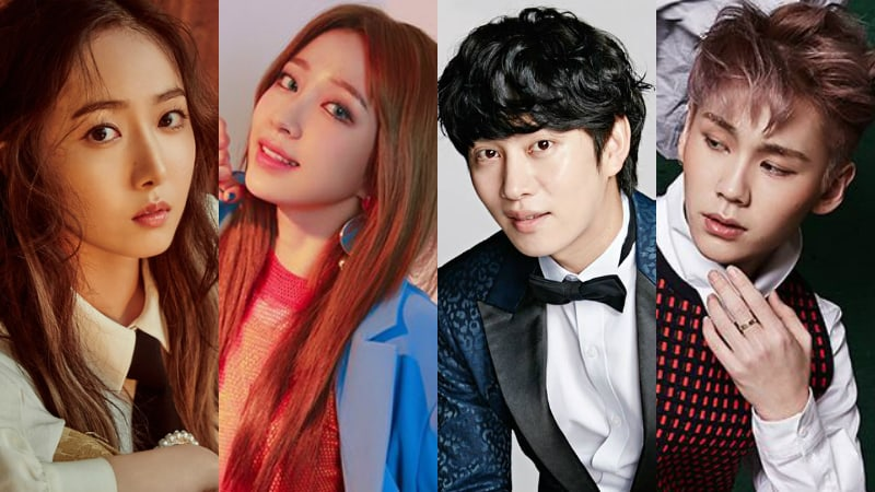 "SinB, Hani, Heechul, And Ilhoon To Return For 300th Special Episode of ""Weekly Idol"""