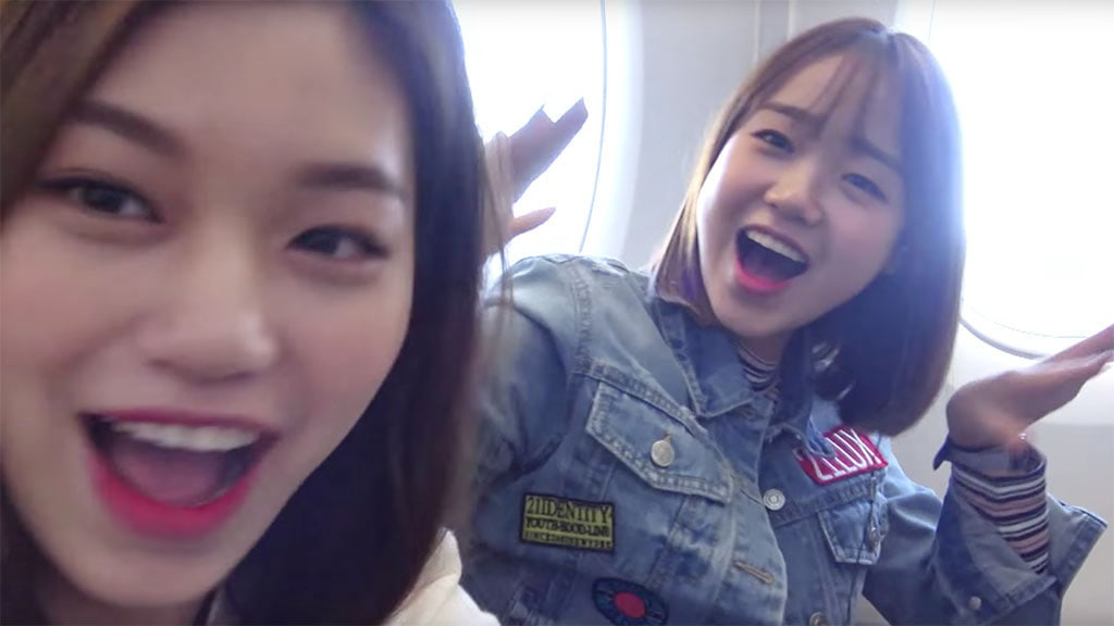 Watch: Yoojung And Doyeon Show Off Their Crazy Friendship And Have The Time Of Their Lives In LA