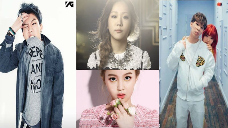 "Yang Hyun Suk Gets Love From YG Entertainment's ""K-Pop Star"" Alumni"