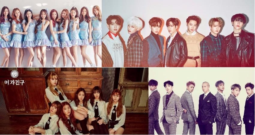 GOT7, GFRIEND, BTOB, And More Suggest Their Go-To Tracks To Listen To During Spring