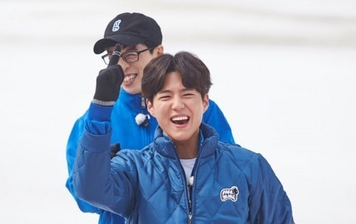 Park Bo Gum Attempts Another Olympic Sport In Newly Released Infinite Challenge Stills
