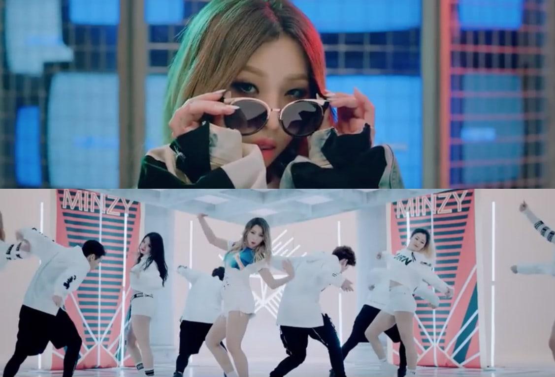 "Watch: Minzy Makes Glorious Return With Solo MV ""NINANO"""