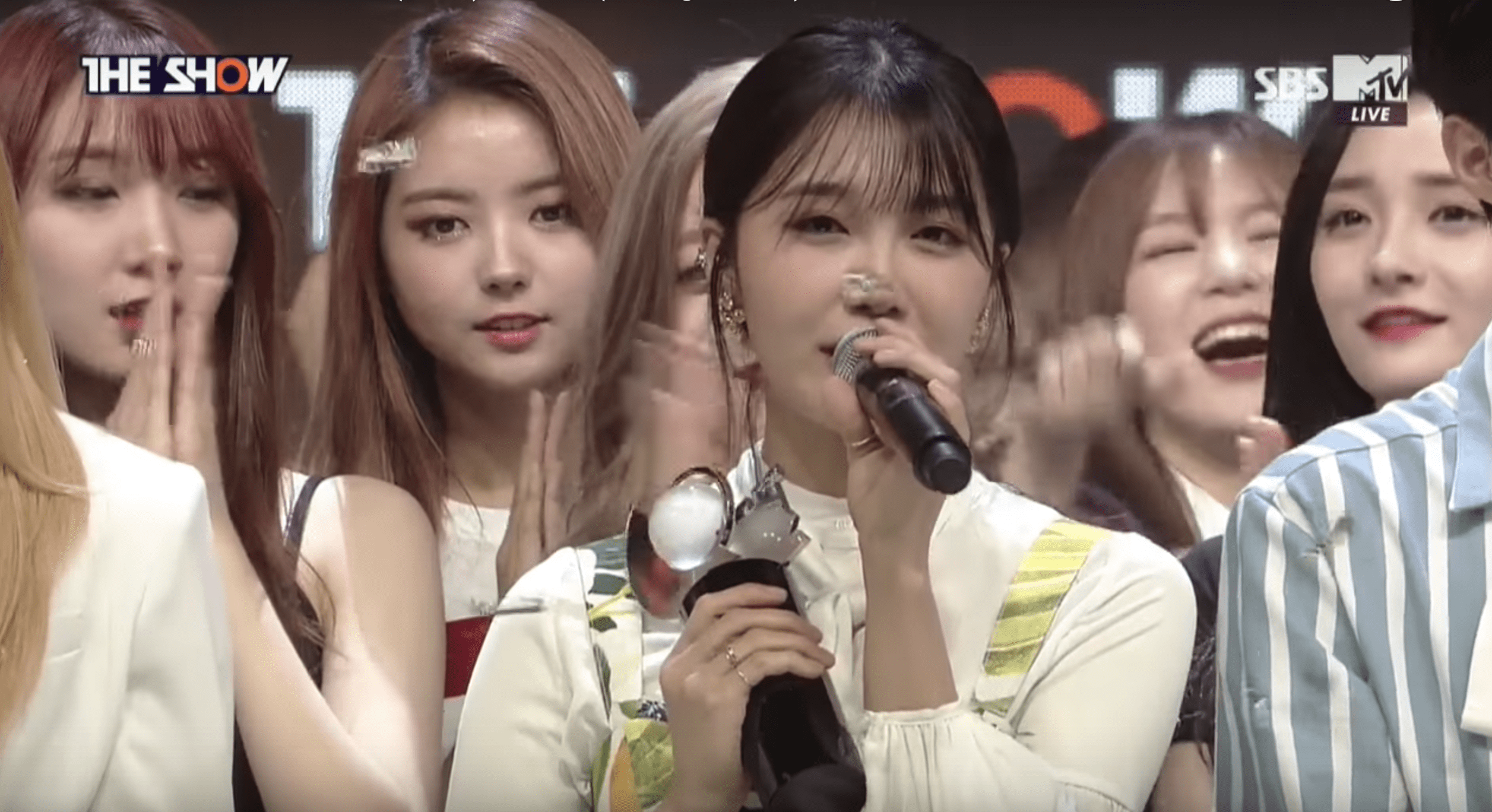 Watch: Jung Eun Ji Takes 1st Win With The Spring On The Show, Performances By Gong Minzy, EXID, Teen Top, And More