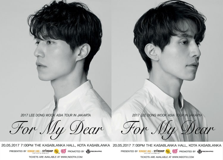 Giveaway: Win Tickets To Attend Lee Dong Wook's Fan Meeting In Jakarta
