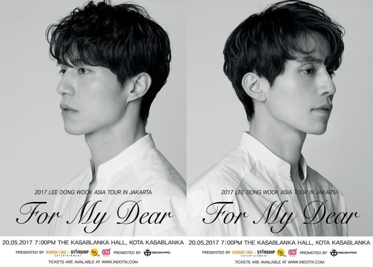 Giveaway: Win Tickets To Attend Lee Dong Wook's Fan Meeting In Jakarta