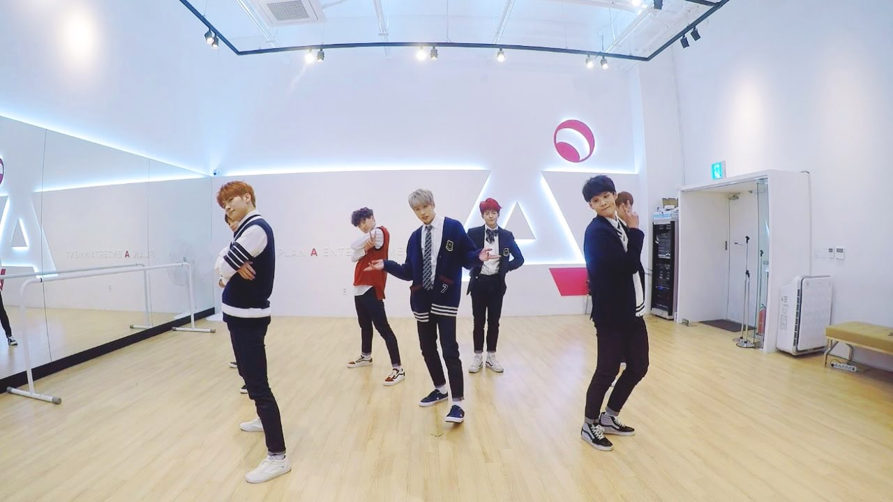 "Watch: VICTON Becomes Charming Students For ""Blank"" Dance Practice Video"