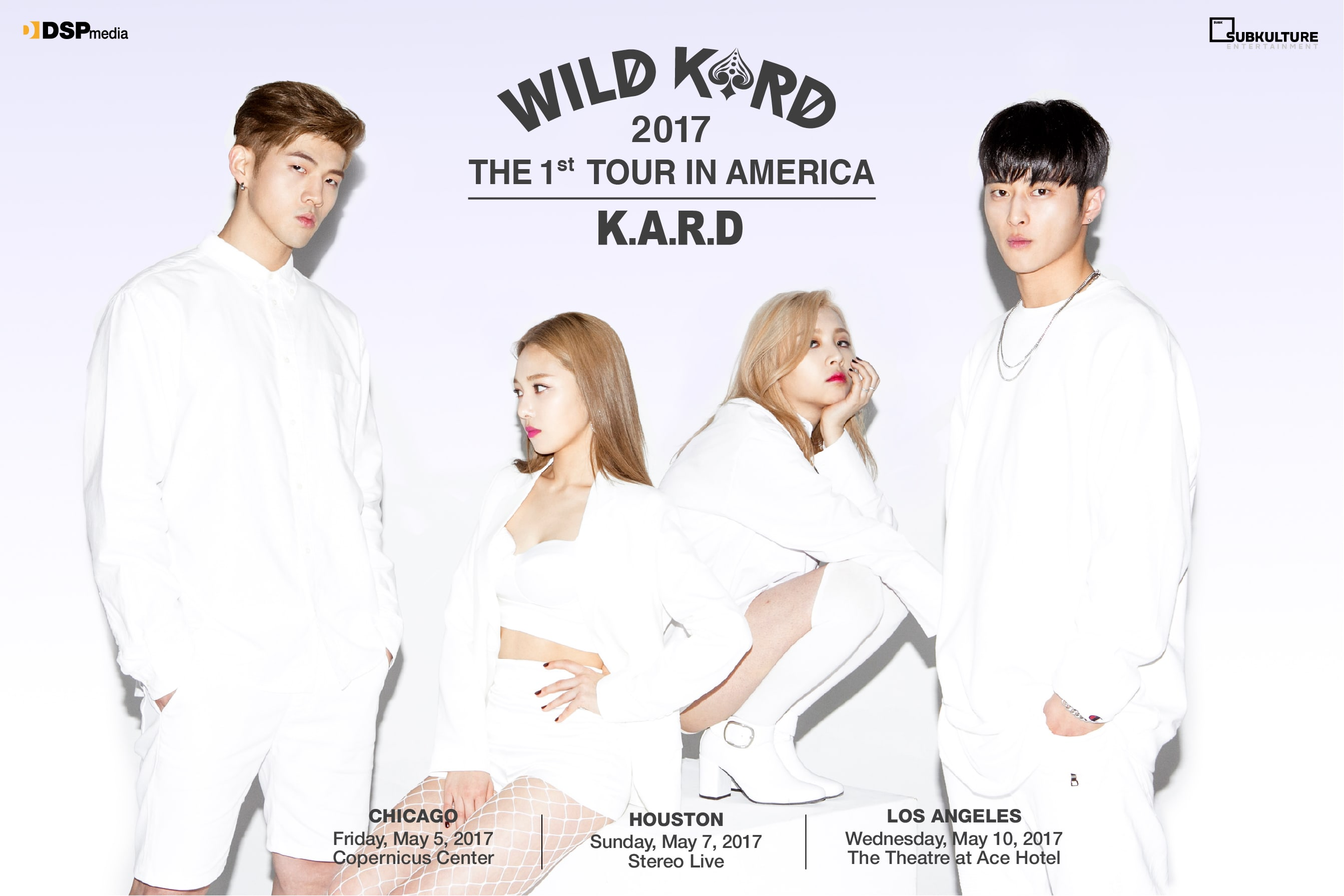 Giveaway: See K.A.R.D Get WILD (For The First Time Ever) In The US