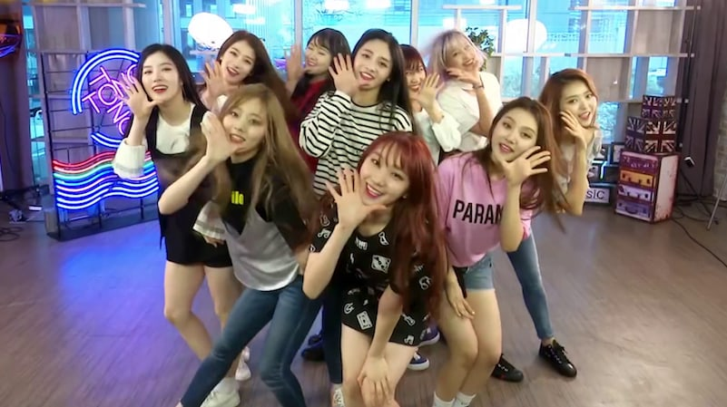 Watch: PRISTIN Stuns And Provides Laughs With WEE WOO In Double Speed