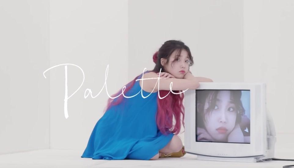 "Watch: IU Is Truly Fine In ""Palette"" Featuring G-Dragon MV"