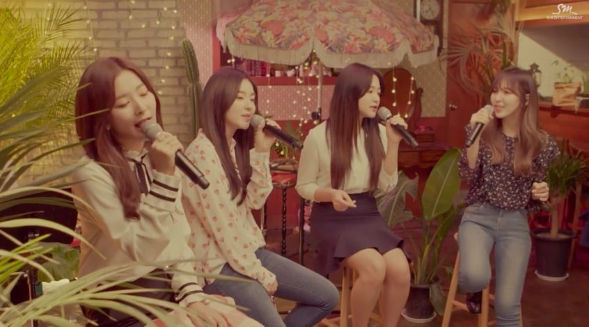 """Watch: Red Velvet Shares Perfect Live Acoustic Version of """"Would U"""""""