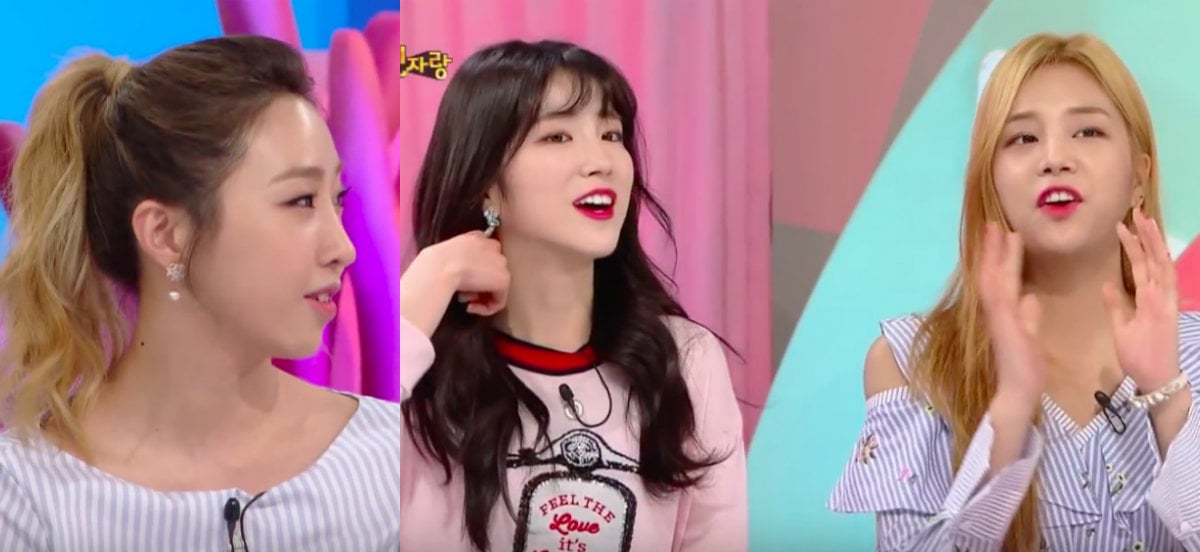 Minzy Compliments LABOUM For Doing Things That She Can't Do