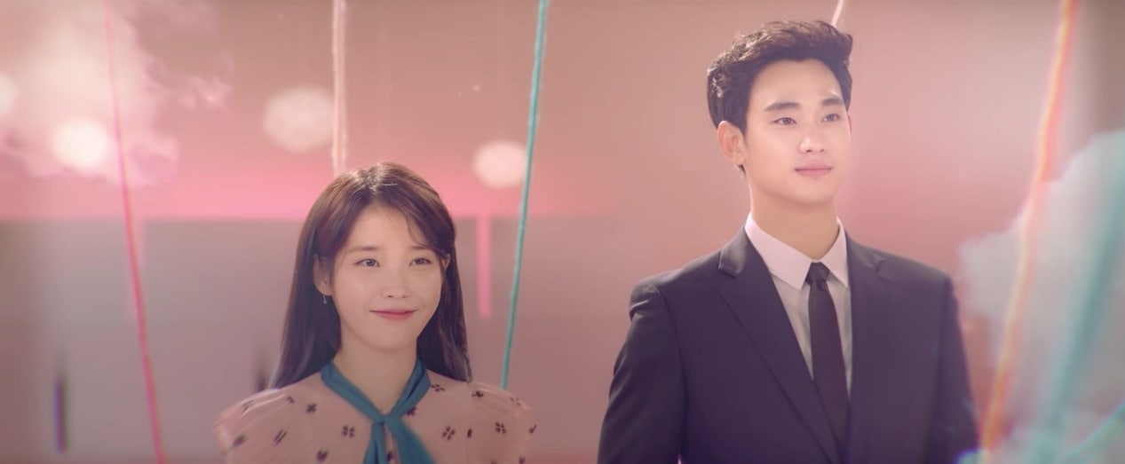 "Watch: IU And Kim Soo Hyun Reflect On Their Loving Relationship In ""Ending Scene"" MV"