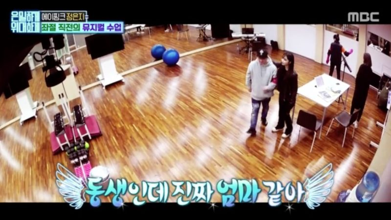 """Watch: Apink's Jung Eun Ji Fearlessly Stands Up For Huh Gak On """"Secretly Greatly"""""""