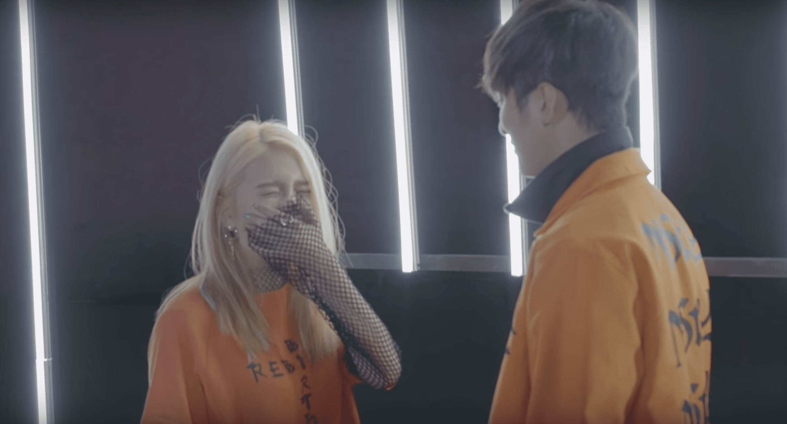 """Watch: K.A.R.D Show Off Their Comfortable Relationship Behind The Scenes Of """"Rumor"""" MV"""